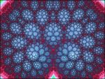 Tree of Bloody Snowflakes Fractal by titoinou