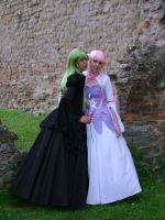 C.C. and Euphemia by lilie-morhiril