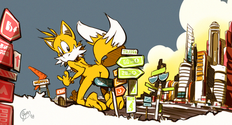suburb .:S Tails:. by edtropolis