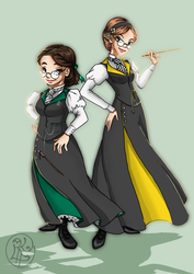 Victorian Hogwarts by SweetLittleVampire
