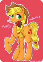 Have a choco-covered apple! by divided-s