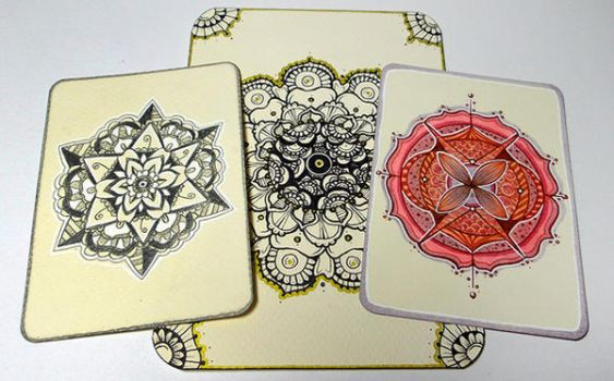 Hand-drawn Mandalas | School project by CatherineWhite