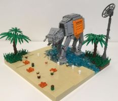 Rogue One: Attack On Scarif by Lego4life