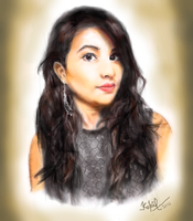 Digital Portrait #3 by KapilVe