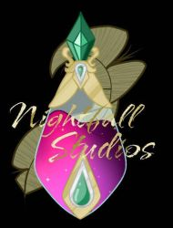 Nightfall Painting Studio's logo by SpectrumSketch
