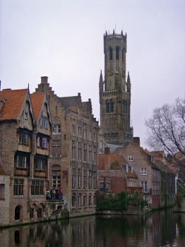 View of Brugge by TeoB