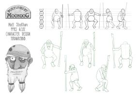Moondog Character Turnaround Sheet by trybutfail