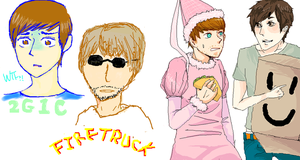 ::Smosh:: Another Paintchat by NaOH-giveup