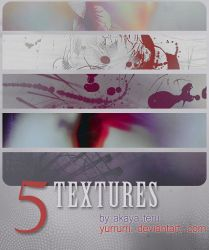 02. 5 TEXTURES PACK by yurrurri