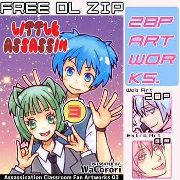 [Free DL ZIP] Little Assassin 03 by WaCorori
