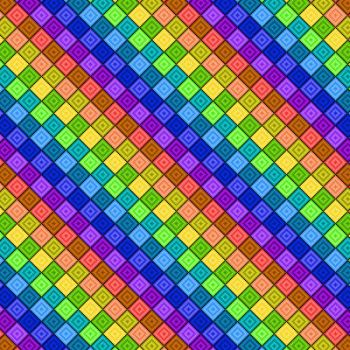 Spectrum Block Pattern by Humble-Novice