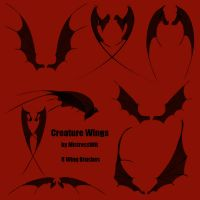 Creature Wings by WitsResources