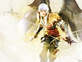 Aion Wallpaper by Leon88X