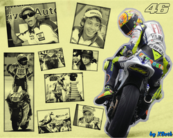 Valentino Rossi wallpaper by XBeth42