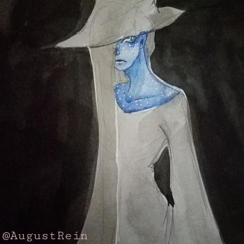 Witch blue by AugustRein