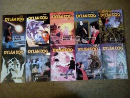 Dylan Dog Comic Collection from 50 to 59 by NecromancerKing85