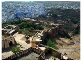 jodhpur - the blue city by burninlab