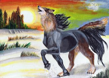 The Wolf and Horse as One - revised by Farumir