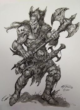 Comic book expo sketch by TARGETE