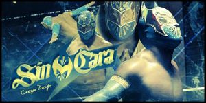 Sin Cara Banner by Cre5po