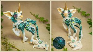 Cain - Minkin Sculpture | Commission by Ilenora