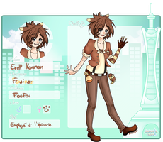 [M.I] Fiche personnage - Erell by BubyBubble