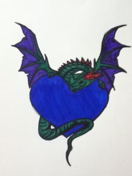 dragon heart by v-is-a-beast