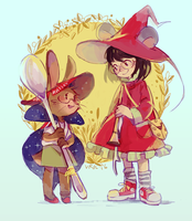 201602202 witchsonas by Viridilly