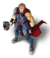The Mighty Ror - God of Thundercats by BloodySamoan