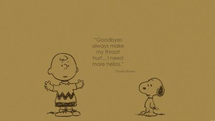 Wallpaper Charlie Brown quote 2 by rmck2