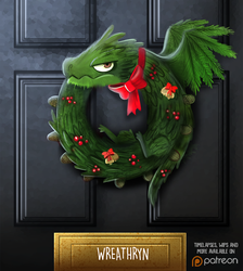 Daily Paint 1477. Wreathryn by Cryptid-Creations
