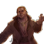 Varric Tethras by Naesagern