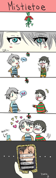 Mistletoe - YOI Secret Santa by EPC9731