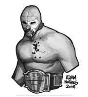 Mexican Wrestler by Autaux