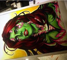 Poison Ivy Bust by animaddict