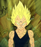 Majin Vegeta by DanyShiny