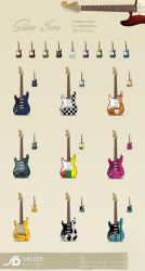 guitar icons by LeMex