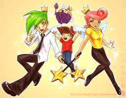 The Fairly OddParents 2008 by slifertheskydragon