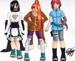 Naruto OC: Team 5 by DisJunctioneD