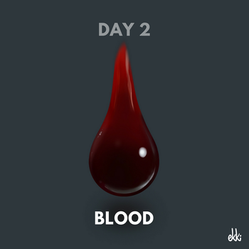 Day 2: Blood by ekkiart