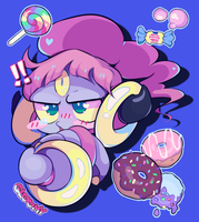 My hoopa is...*record scratch* a MOEBLOB?! by dhelmise