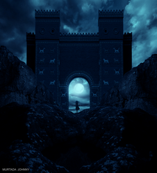 The daughter of Babylon by Morteze