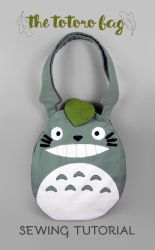 Sewing Tutorial: The Totoro Bag by SewDesuNe
