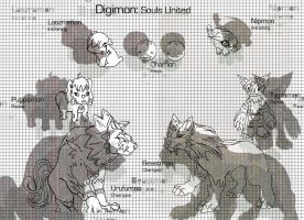Digimon: souls united by metal-ostrich