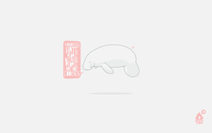 Manatees Hate People by the-marazmo