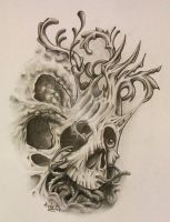 Skull Dynamics by Anderstattoo