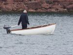 Stock boat and man by Theshelfs