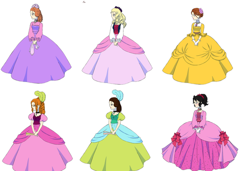 Rose of Versailles Disney 3 by UberxMoMo