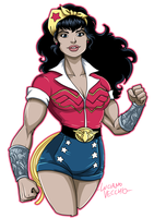 DC Bombshells Wonder Woman by LucianoVecchio