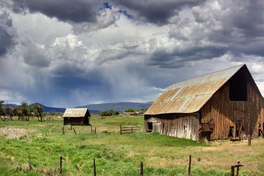 Old Barn VII by patrick-brian